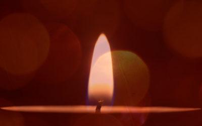 O Fogo Sagrado da Luz Laranja