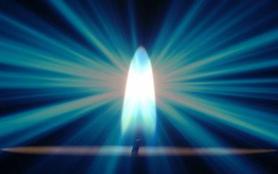 O Fogo Sagrado da Luz Azul