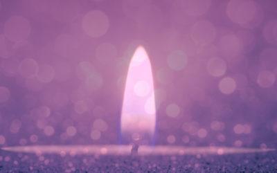 O Fogo Sagrado da Luz Lilás
